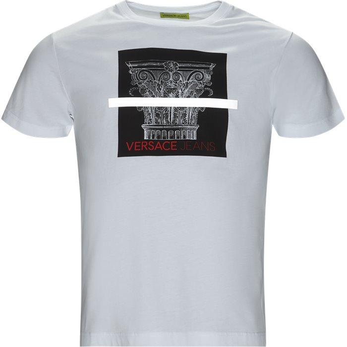 B3GTB71C - T-shirts - Regular - Hvid