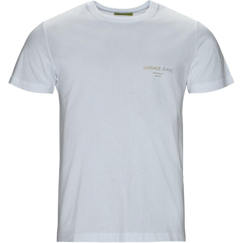 Versace jeans foil 57 slim mc t-shirt hvid fra versace jeans fra quint.dk