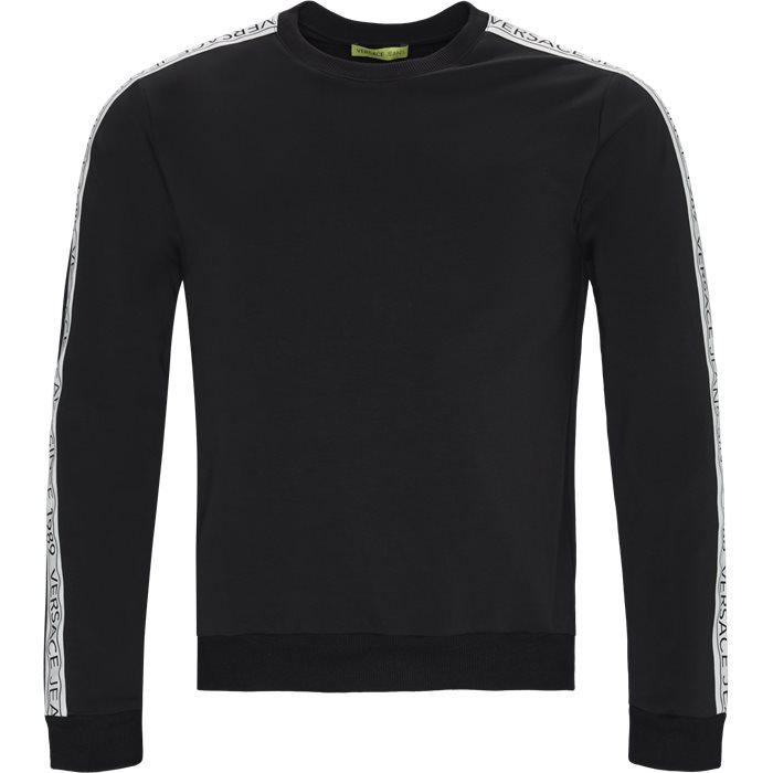 B7GTB7F9 Crewneck Sweatshirt - Sweatshirts - Regular - Sort