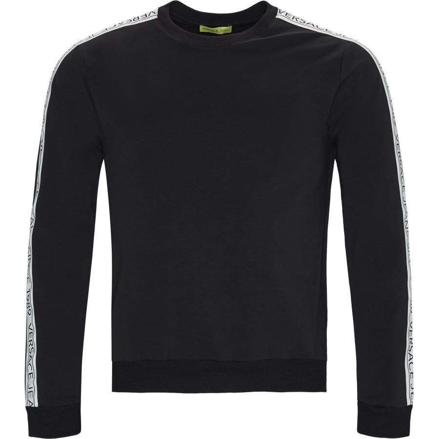 B7GTB7F9 13850 - B7GTB7F9 Crewneck Sweatshirt - Sweatshirts - Regular - SORT - 1