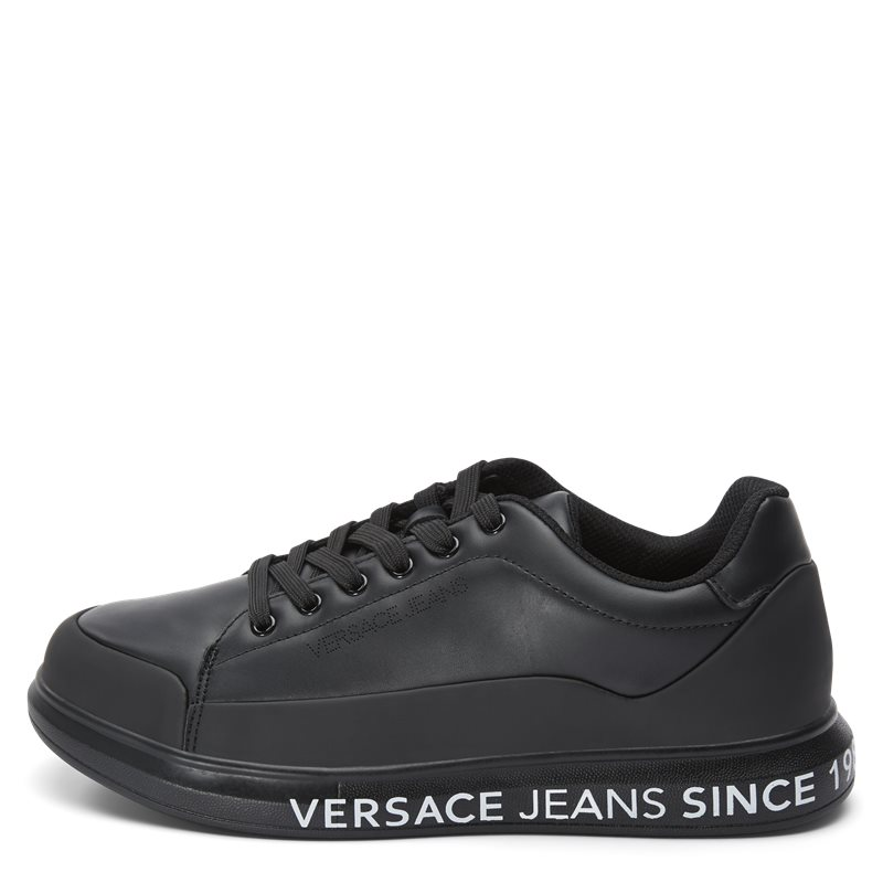 versace jeans Versace jeans eoytbsn1 - linea fondo sneaker sort/sort fra quint.dk