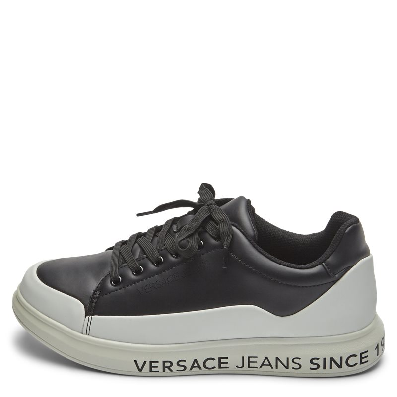 versace jeans Versace jeans eoytbsn1 - linea fondo sneaker sort fra quint.dk