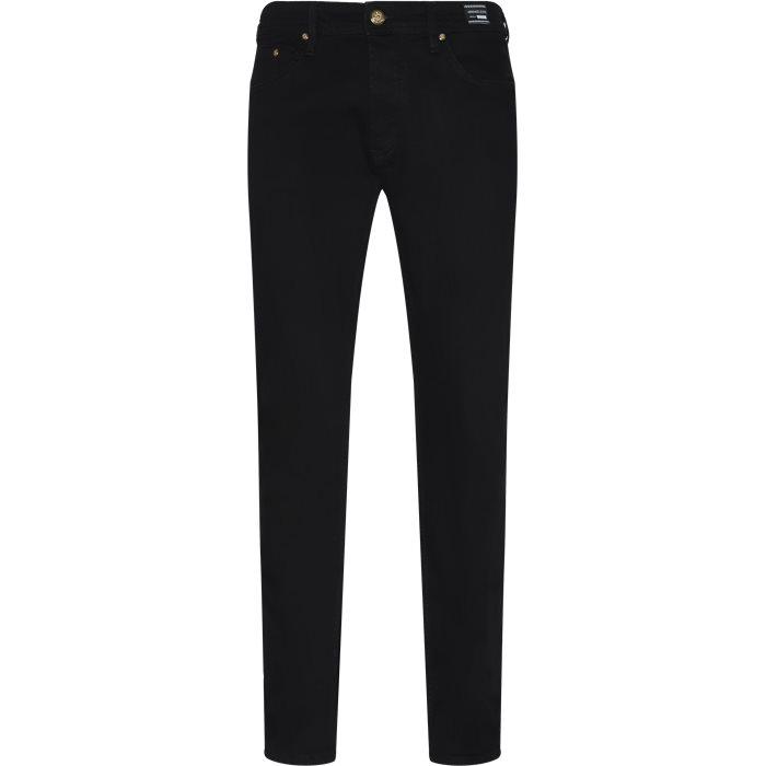Jeans - Straight fit - Svart