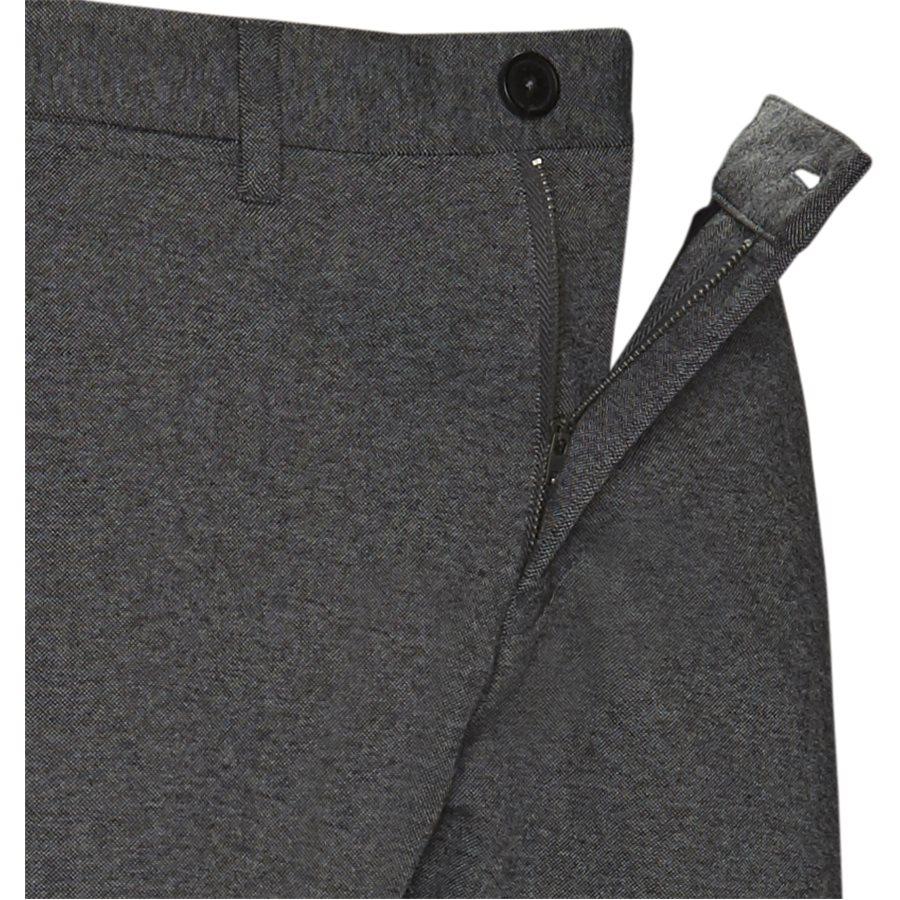 JASON CHINO SHORTS - Jason Chino Shorts - Shorts - Regular - GRÅ - 4
