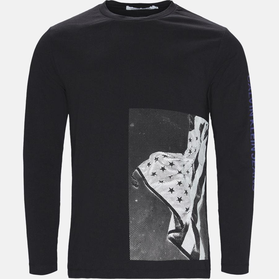 J30J310401 - T-shirts - Regular fit - BLK/WHI - 1