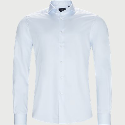 Dressed 2-Ply Shirt Tailored fit | Dressed 2-Ply Shirt | Blå