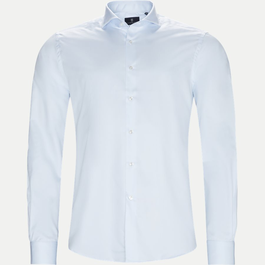 91003T DRESSES SHIRT 2-PLY - Dressed 2-Ply Shirt - Skjorter - Tailored fit - LYSBLÅ - 1