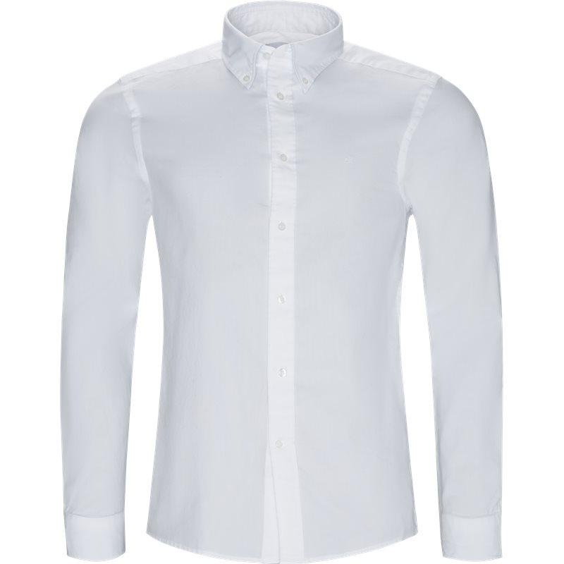 Billede af Calvin Klein Regular fit K10K102293 BTN OXFORD  Skjorter Hvid