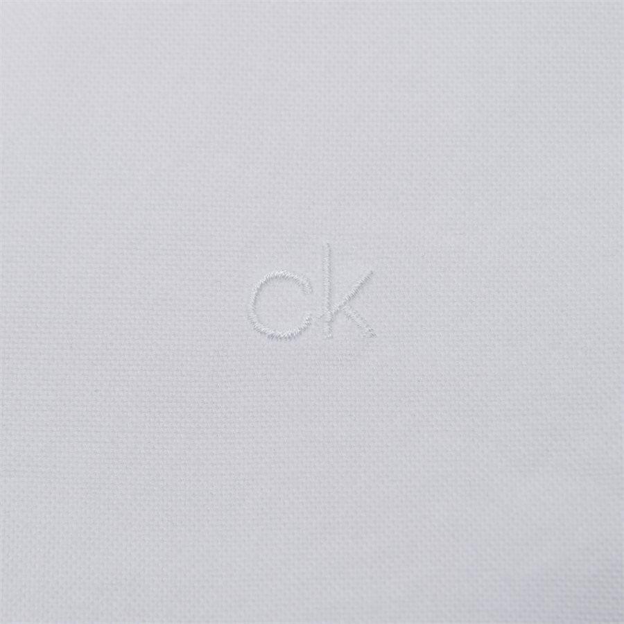 K10K102293 BTN OXFORD  - Skjorter - Regular fit - HVID - 4
