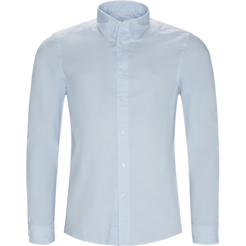 Billede af Calvin Klein Regular fit K10K102293 BTN OXFORD  Skjorter Lysblå