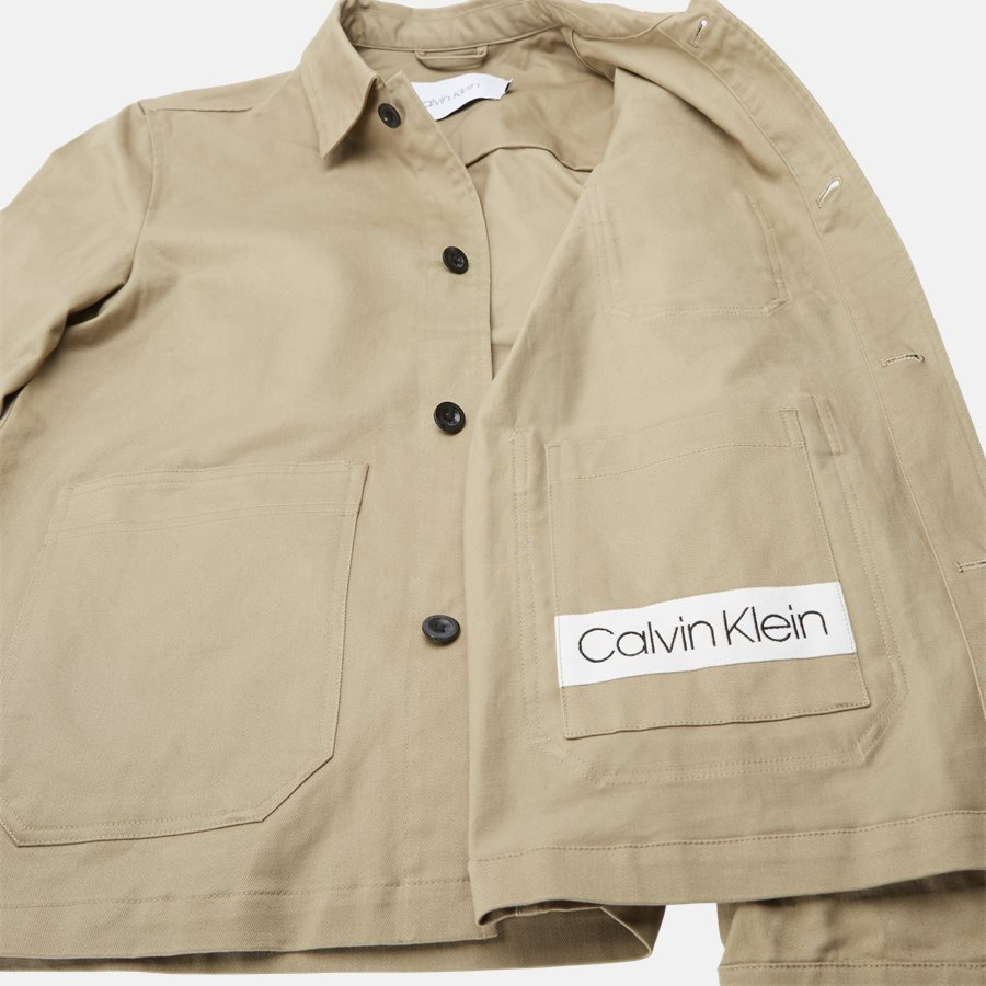 K10K103719 COTTON WORK WEAR - Skjorter - Regular fit - KHAKI - 9