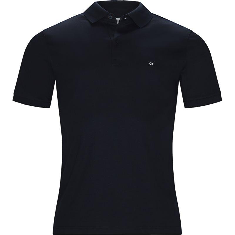 Billede af Calvin Klein Regular fit K10K103378 CHEST LOGO POLO T-shirts Navy