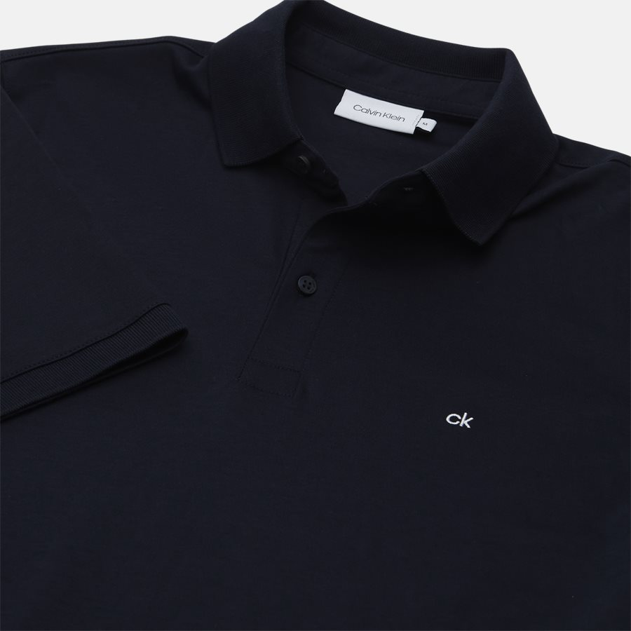 K10K103378 CHEST LOGO POLO - T-shirts - Regular fit - NAVY - 3