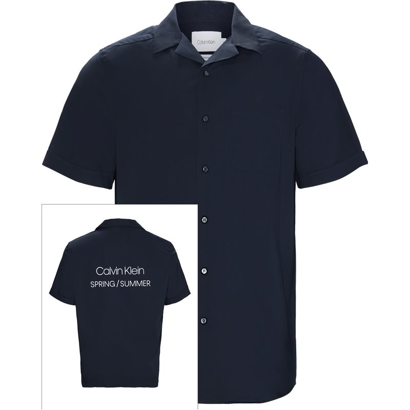 Calvin Klein Relaxed fit K10K103400 RELAXED FIT LOGO TEE Skjorter Navy