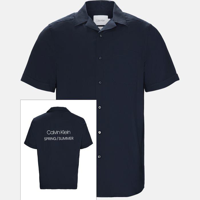 Kortærmede skjorter - Relaxed fit - Blå