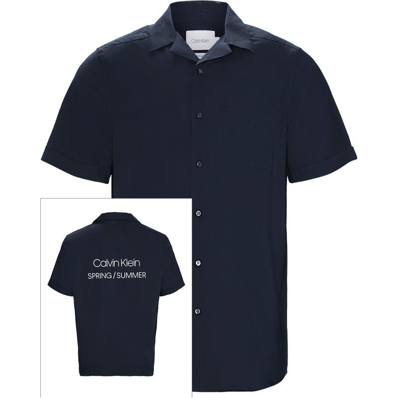 Billede af Calvin Klein Relaxed fit K10K103400 RELAXED FIT LOGO TEE Skjorter Navy