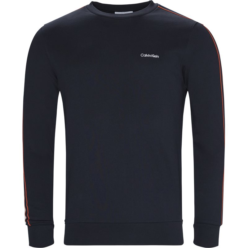 Calvin klein regular fit k10k103499 sweatshirts navy fra calvin klein på axel.dk