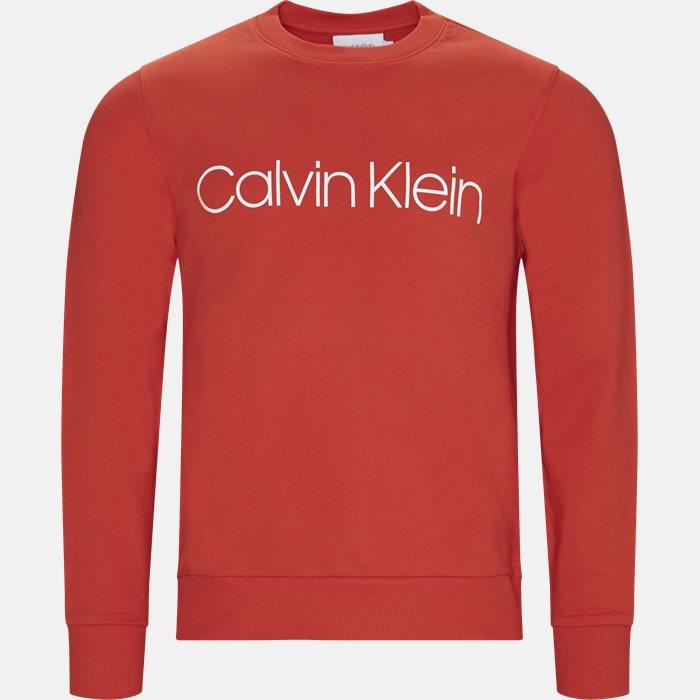 Sweatshirts - Regular fit - Rød