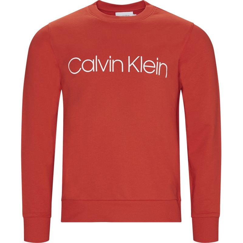 Billede af Calvin Klein Regular fit K10K102724 COTTON LOGO SWEAT Sweatshirts Rød