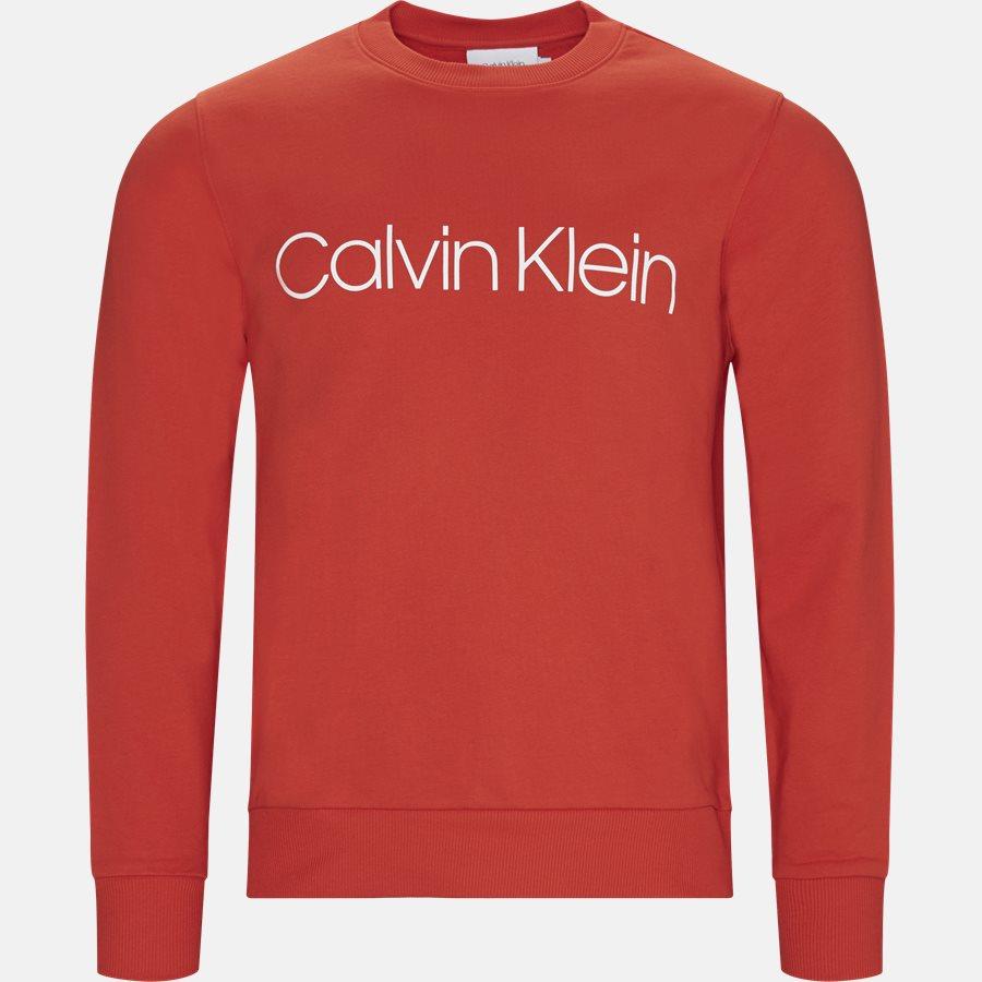 K10K102724 COTTON LOGO SWEAT - Sweatshirts - Regular fit - RØD - 1