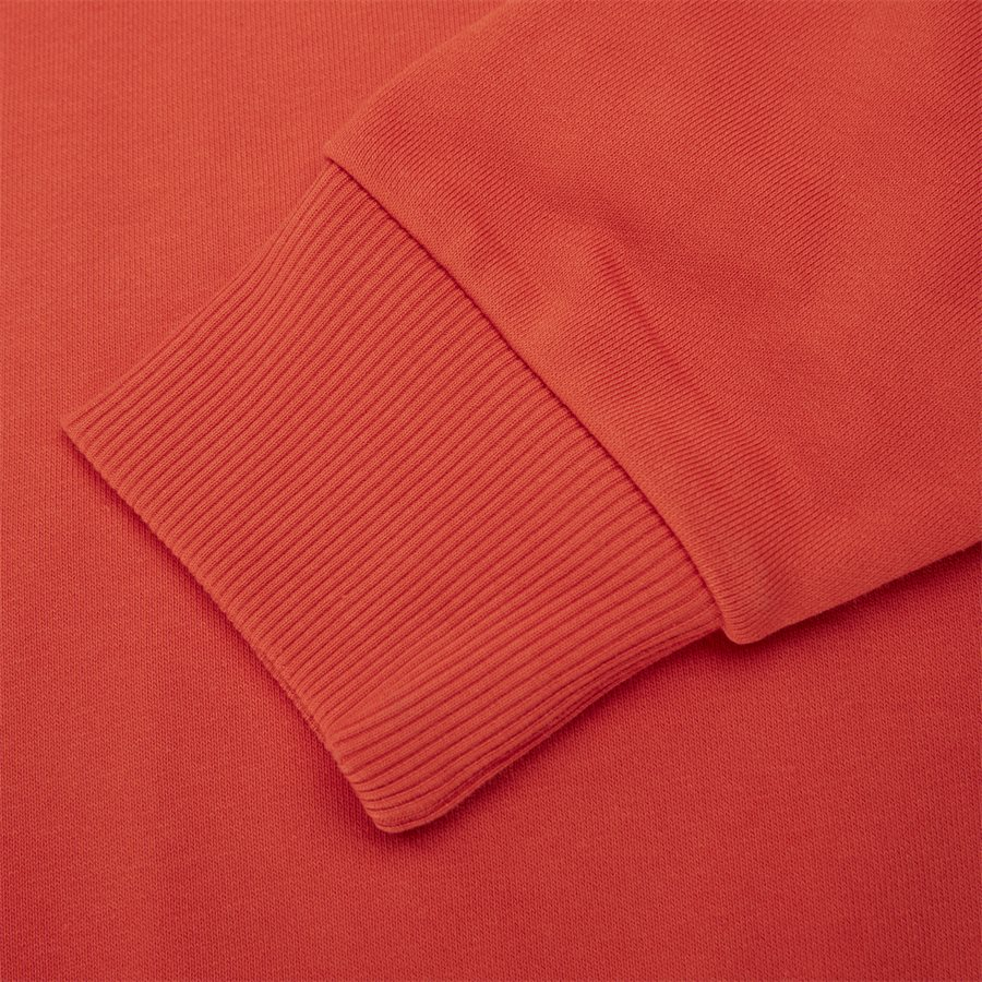 K10K102724 COTTON LOGO SWEAT - Sweatshirts - Regular fit - RØD - 3