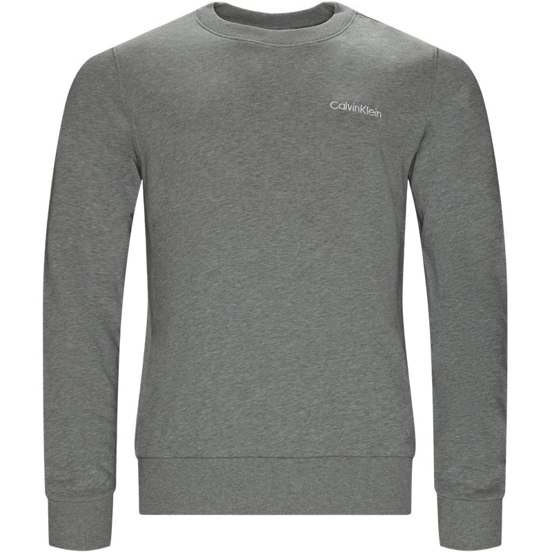 Billede af Calvin Klein Regular fit K10K103088 CHEST EMBRODERY SWEAT Sweatshirts Grå