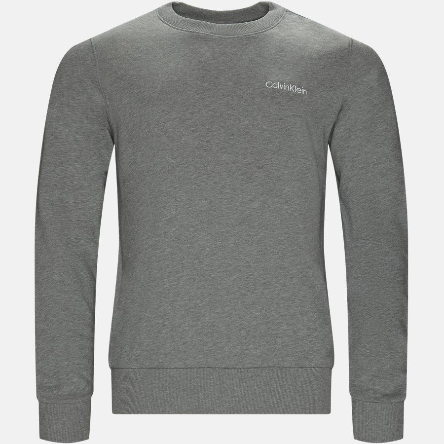 K10K103088 CHEST EMBRODERY SWEAT - Sweatshirts - Regular fit - GRÅ - 1
