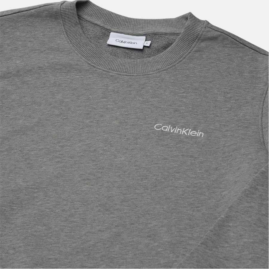 K10K103088 CHEST EMBRODERY SWEAT - Sweatshirts - Regular fit - GRÅ - 3
