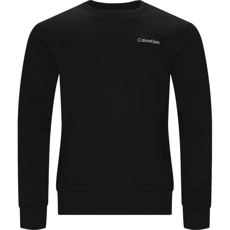 Billede af Calvin Klein Regular fit K10K103088 CHEST EMBRODERY SWEAT Sweatshirts Sort