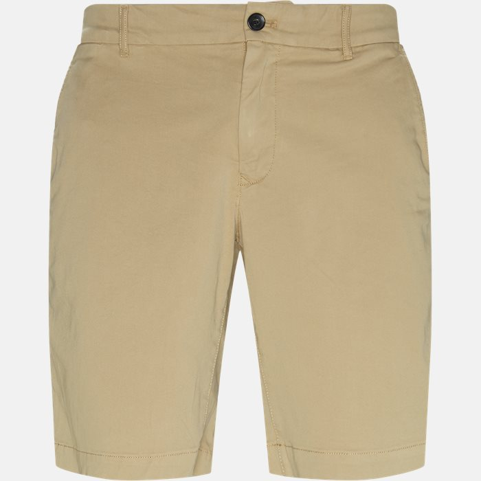Shorts - Regular fit - Sand
