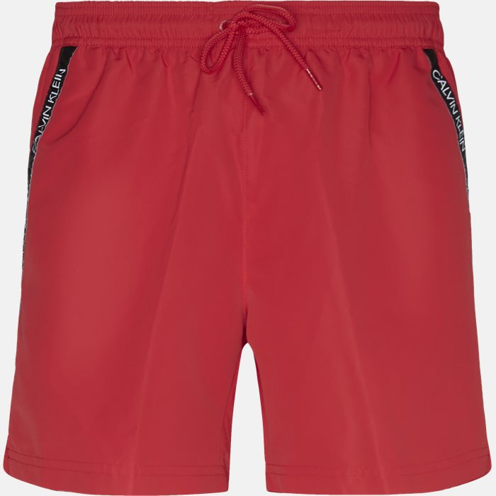 Shorts - Regular fit - Red