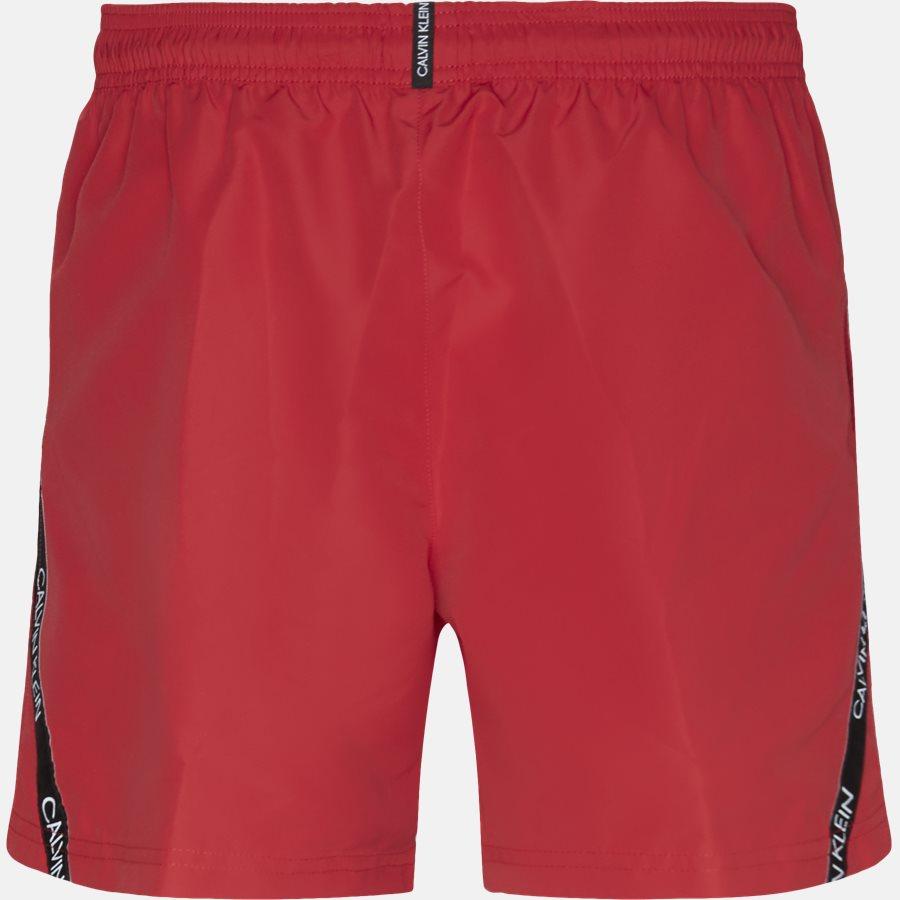 KMOKM00285654 - Shorts - Regular fit - RØD - 2