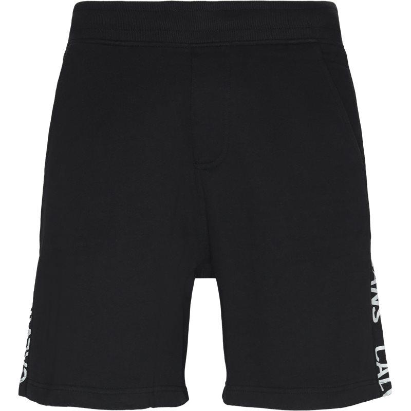Billede af CALVIN KLEIN JEANS Regular fit J30J312250 SIDE INSTITUTIONAL SHORTS Shorts Sort