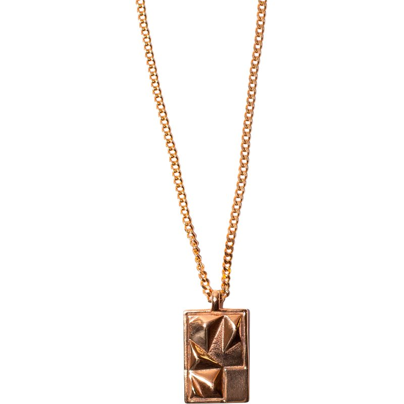 Image of   A.kjærbede Sam Necklace Guld