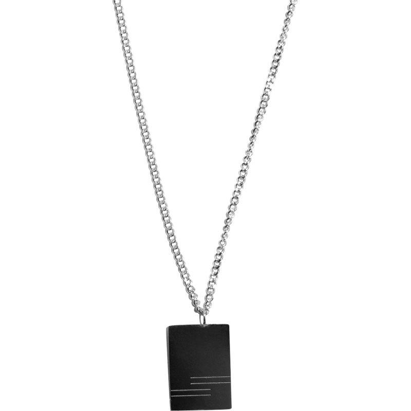 a.kjærbede A.kjærbede cody necklace sølv fra quint.dk