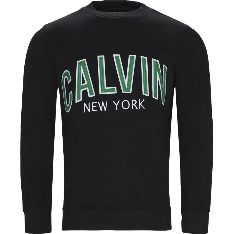 Billede af CALVIN KLEIN JEANS J30J311249 ALVIN GRAPHIC CREW NECK Sweatshirts Sort