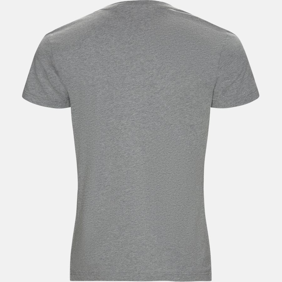 J30J311649 MONOGRAM FRONT LOGO SLIM - T-shirts - Regular fit - GRÅ - 2