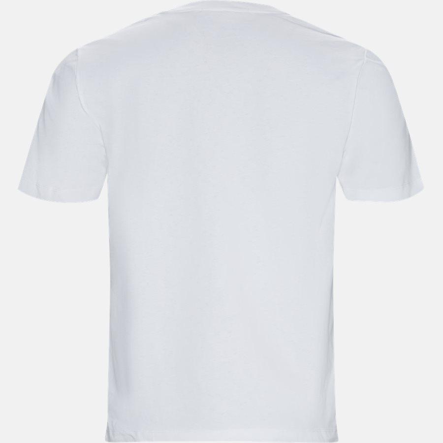 J30J312121 CALVIN CURVED VARSITY REG SS - T-shirts - HVID - 2