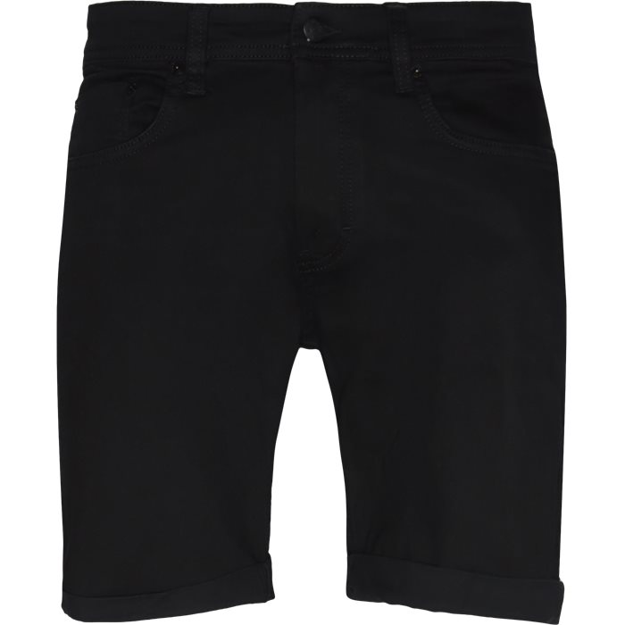 Black Night Mike Shorts - Shorts - Regular - Sort