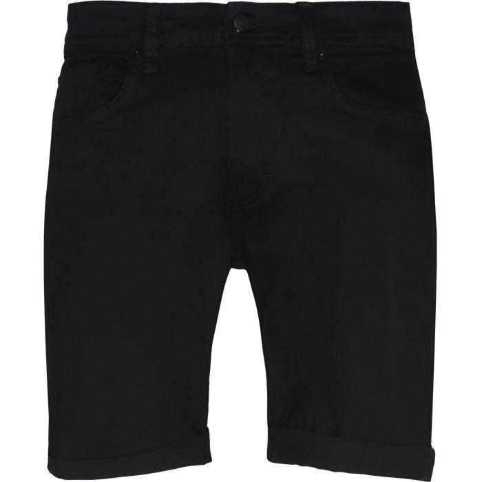 Black Night Mike Shorts - Shorts - Regular - Sort