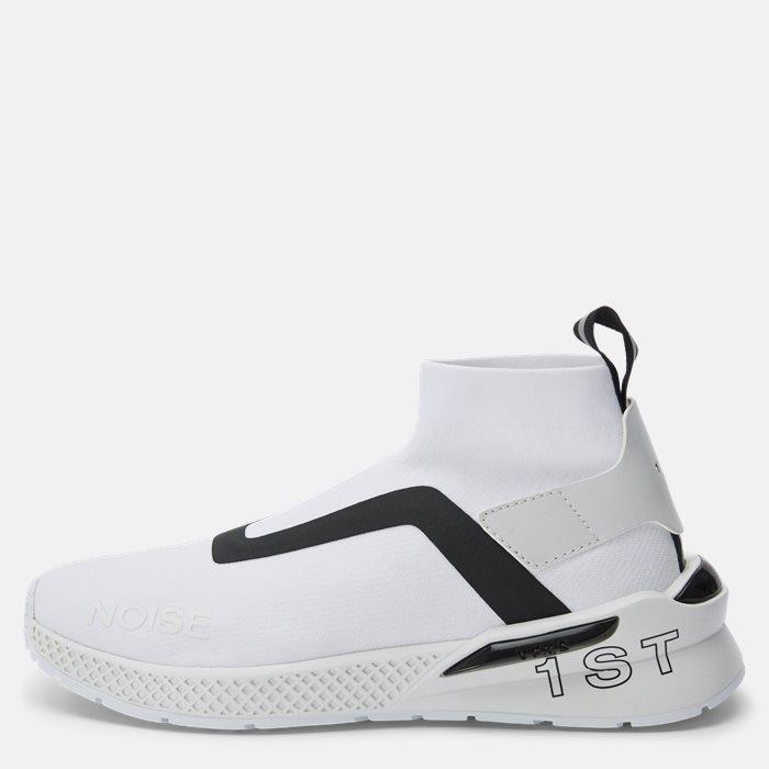 Sko - Hvid