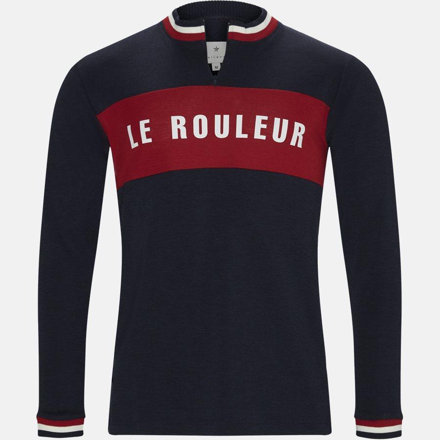 JACOB LE ROULEUR - Strik - Regular fit - NAVY - 1