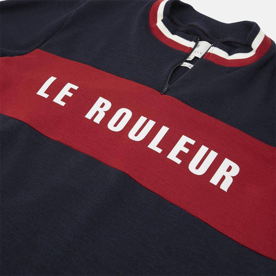 JACOB LE ROULEUR - Strik - Regular fit - NAVY - 4