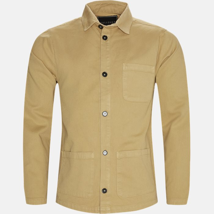 Shirts - Regular fit - Brown