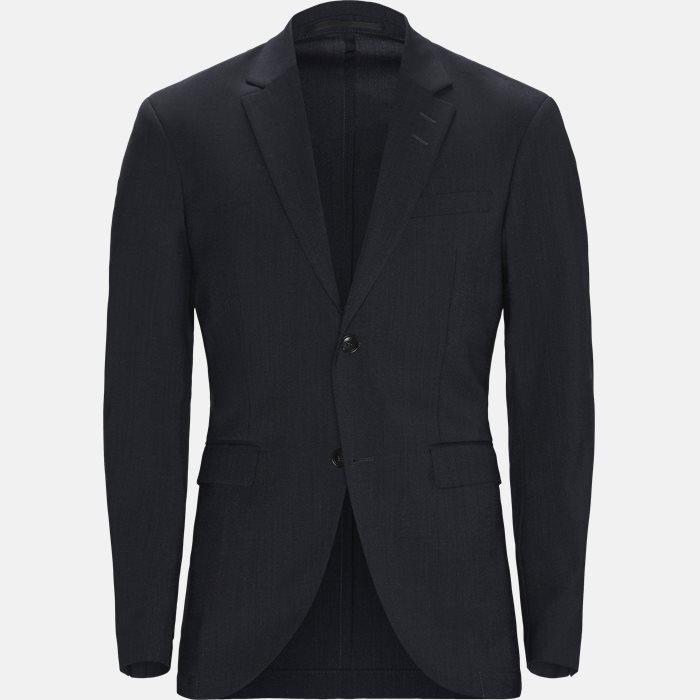 jakke  - Blazer - Slim - Blå