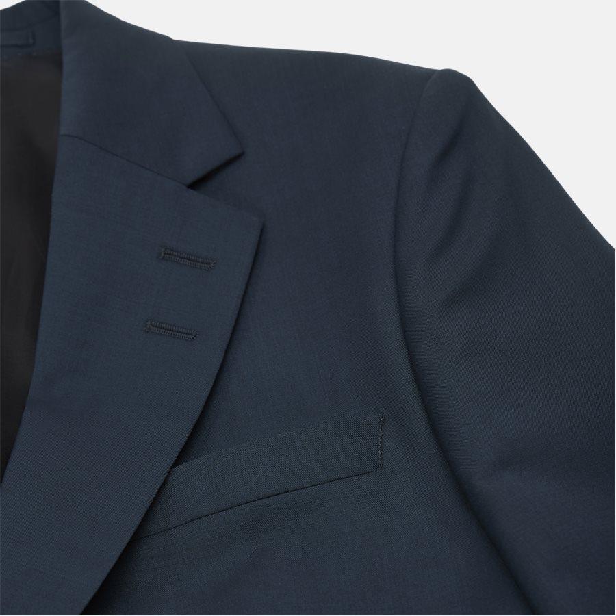 66495 JAMONTE - jakke  - Blazer - Slim - PETROL - 4