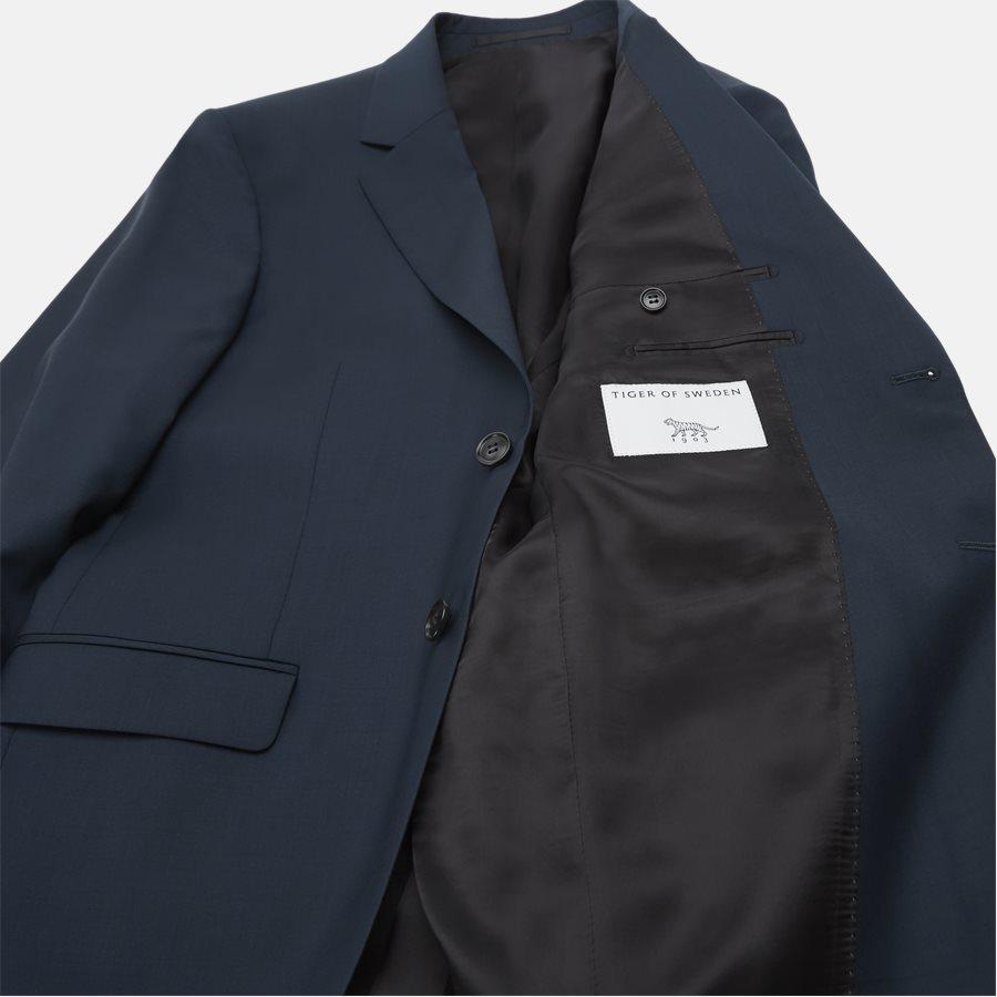 66495 JAMONTE - jakke  - Blazer - Slim - PETROL - 8