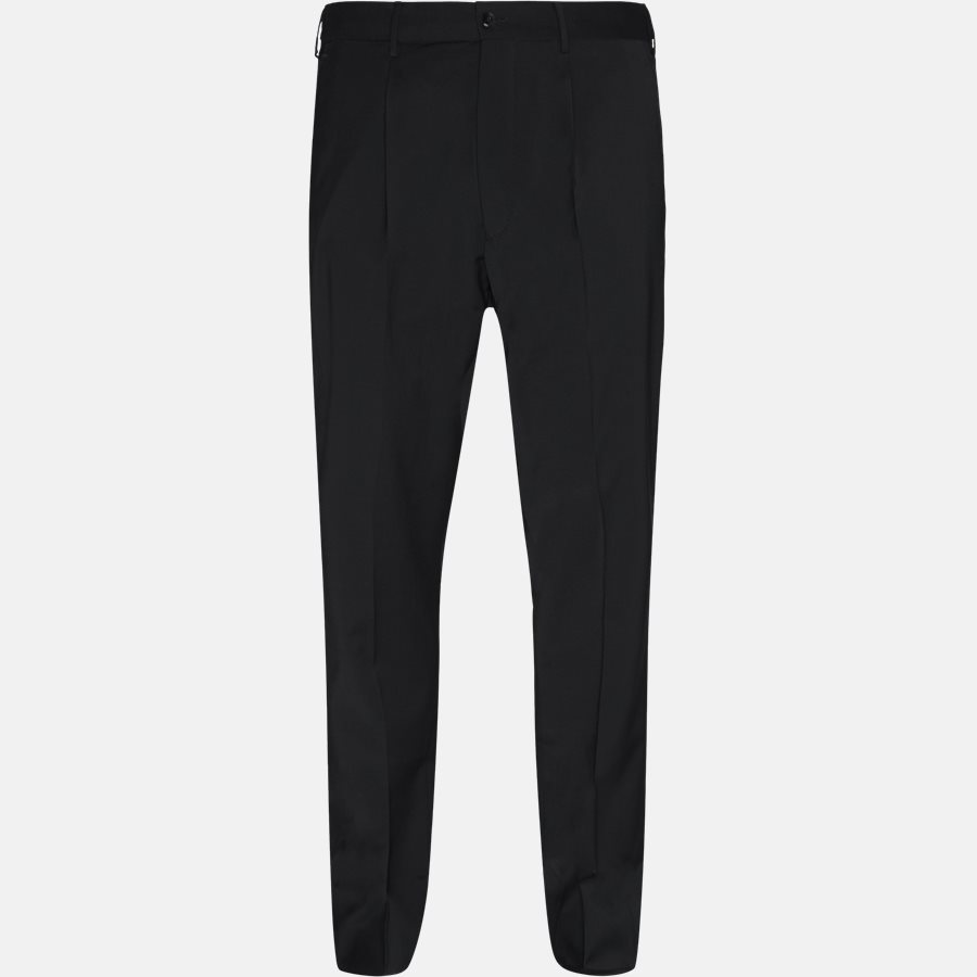 N PO35 - Bukser - Regular slim fit - BLACK - 1