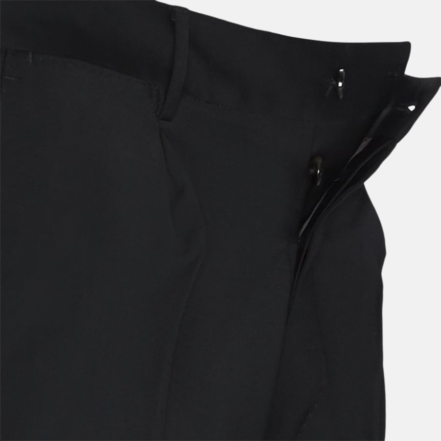 N PO35 - Bukser - Regular slim fit - BLACK - 4