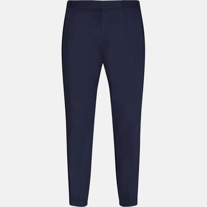 Trousers - Regular slim fit - Blue